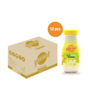 PUREAL Soy Milk Vanilla 12 x 250ml